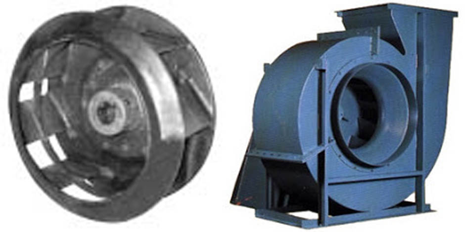 Backward Incline Fan : Centrifugal blowers backward inclined blower exhausters